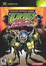 Teenage Mutant Ninja Turtles 3: Mutant Nightmare (Microsoft Xbox, 2005)-Complete