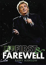 BARRY MANILOW FIRST AND FAREWELL DVD 2-DISC SET VGC