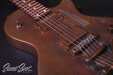 2003 James Trussart Steeldeville Gator Engraved with Bigsby B7 Les Paul Style