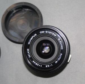 Olympus OM-System G. Zuiko Auto-W 28mm f/3.5 Lens For OM Mount  SLR