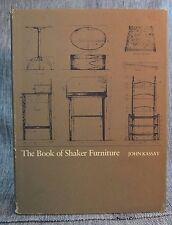 Book of Shaker Furniture John Kassay Massachusetts UP Amherst 1980 Hardback DJ