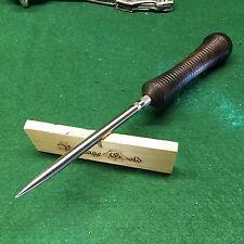 Vintage Gold Blacksmith Custom Ice Pick Canning Awl Tool Custom Ash Handle