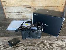 Fujifilm Fuji X-T2 24.3MP Mirrorless Digital Camera Body (Black)