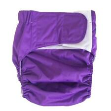 Reusable Adult Cloth Diaper Urinary Incontinence Briefs for Elders Men/Women
