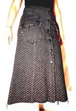 Max   Co. wool tweed brown skirt vintage 70 size 40 IT Falda en lana 606f36075807