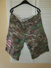 Ralph Lauren Polo Shorts Gr. 36 XL  Camouflage Kurze Hose Army Military Pants