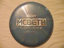 Discraft Swirly Z Luna Paul McBeth Ice Blue Disc Golf Putter - 175g