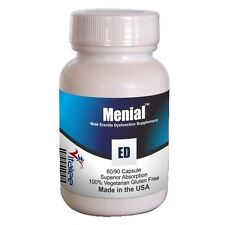 Menial Safer and Natural Alternative to Sexual Healing (ED) (Capsule 60ct)