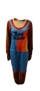 Space Jam Tune Squad Pajamas Adult Union Suit One Piece Taz Costume Size M-XL