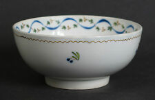English soft paste porcelain slop bowl c1780. Possibly Derby.