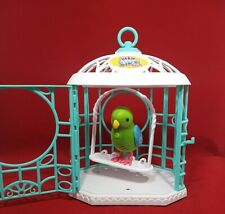 Little live pets bird Blue And White Cage (St22)