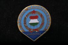Hungary Hungarian Young Pioneers Kisdobosa Little Drummer Badge Uttoroje Pin PRH
