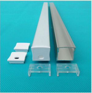 10pcs 1m channel led aluminium profile for 20mm dual row strip,L1000*W23.5*H20mm
