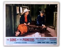 """The Sons Of The Pioneers"" Original 11x14 Authentic Lobby Card Photo Poster 1955"