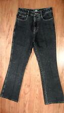 NWT HAO JUN Jeans Dark Wash 100% Cotton Denim 28 x 30 Slim Boot Fit (1355)