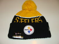 Pittsburgh Steelers Knit On Field New Era Toque Beanie Player Sideline Hat Cap