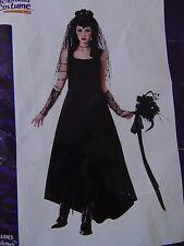 Dark Gothic Bride Women's Halloween Cosplay Costume Small No Barbwire #1253