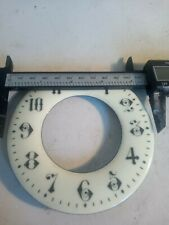 4 Clock  Dials And Glass see pics for size