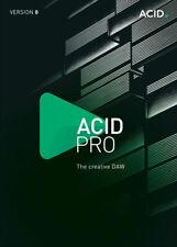 MAGIX ACID PRO 8 PC WINDOWS GENUINE LIFETIME DIGITAL KEY