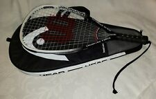 "Wilson Punisher 22"" Racquetball Racket - Xs 3 7/8"" Grip, w/Head Cover"
