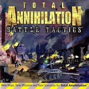LOT 25  Total Annihilation Battle Tactics Expansion      NEW CD in sleeve