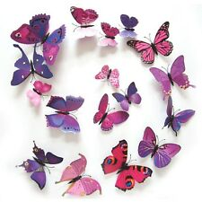 Butterfly 3D Wall Stickers Wall Decors Wall Art Wall Decorations