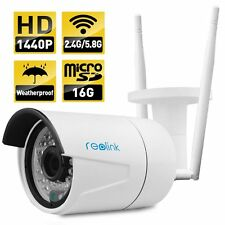 Reolink RLC-410WS 4-Megapixel 1440P 2560x1440 Wireless Security Bullet IP Camera