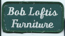 Bob Loftis Furniture OK employee patch 2 X 4 #141