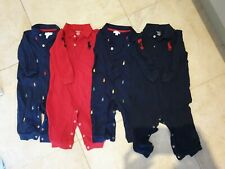 Bundle of Ralph Lauren Baby Boy 6-9 Month Baby grow outfit clothes