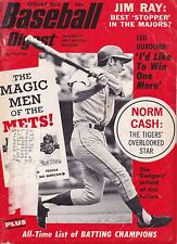 August 1972 Baseball Digest New York Mets Bud Harrelson on Cover