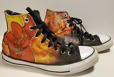 Converse Chuck Taylor Shoes DC Comic Flash Rebirth Vol 1 Men 8 161390C/ Women 10