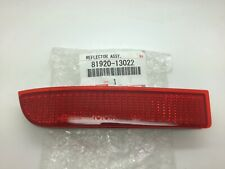 Toyota Avensis 09-15 Rav4 06-13 Left L NSR Genuine Car Rear Bumper Red Reflector