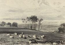 Pevensey Bay - J. M. W. Turner, Stich W. B. Cooke, 1860