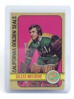 1972-73 Gilles Meloche California Golden Seals #112 O-Pee-Chee Hockey Card I668