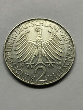 1958-G Germany 2 Mark Max Planck AU #13087
