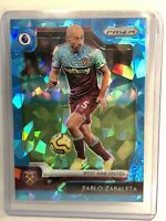 2019-20 CHRONICLES PRIZM UPDATE PABLO ZABALETA BLUE ICE /99 SP WEST HAM UNITED🔥
