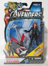 "Black Widow Grapple Blast Avengers Marvel Series 3.75"" Action Figure Hasbro"