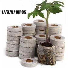 1-20Pcs Peat Compost Plug Seed Starter Grow Propagation Pellets 30 x 50mm fun