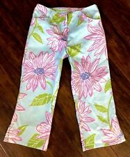 NEW LILY PULITZER Cropped/Capri Pants Girls 10y