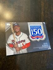 2019 Topps Ozzie Albies 150 Years Commemorative Patch #AMP-OA Braves