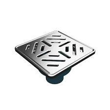 Mert Radiatoren Bodenablauf DU3003 A 150x150 mm senkrecht Edelstahlrost Neuware