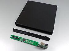 SATA Leergehäuse für CD/DVD Laufwerke SLIM 12,7mm #a915