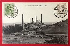 AK ESCH sur Alzette Luxemburg 1924 Bergbau Zeche     ( 11388