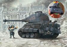 Meng World War Toons - German Heavy Tank King Tiger (Porsche Turret) [Q Version]