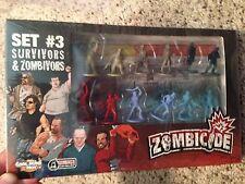 Zombicide Season 2 Survivor Set #3 PACK Kickstarter Exclusive & RARE