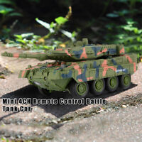 8020/8021Mini 4CH Remote Control Battle Tank Car RC Military Model Toy Gift OK