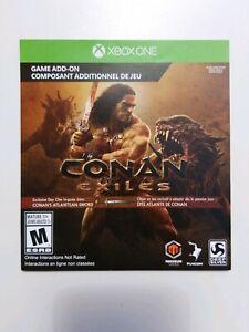Conan Exiles Atlantean Sword Recipe Preorder Bonus