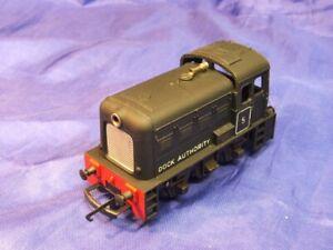 Triang Hornby R253 Genuine 1957/61 Black Yard Switcher Dock Shunter #5 Excellent