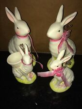 Midwest Of Cannon Falls Rabbit Bunny Set Lot of four Possibly Vintage Awesome