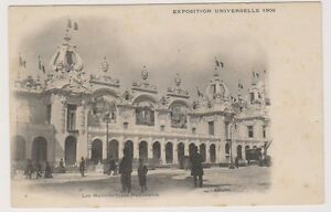 Paris Exhibition 1900 postcard - Manufactures Nationales (A3)